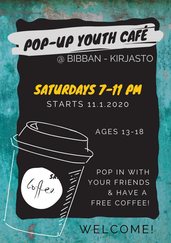 pop up youth cafe bibban kirjasto2